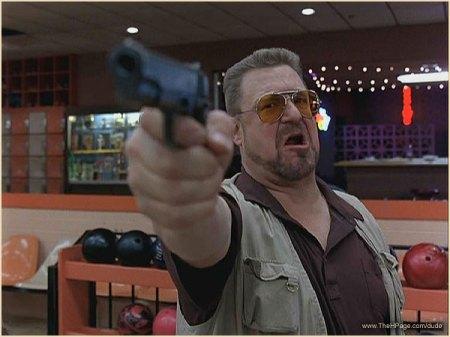 big_lebowski_walter_gun